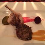 27209161 - 肉料理(鷄と仔羊チョップの相盛り)