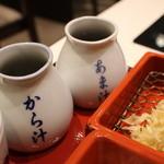 永坂更科 布屋太兵衛 - たれは、から汁とあま汁