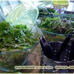 オリエンタル ダイナー - ランチタイム「有機野菜のサラダビュッフェ」無料です。