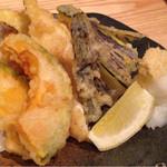 魚真 - 天ぷら