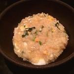 麺屋酒家 鉄風 - 雑炊美味い、、、