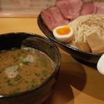 27210254 - らーめん 鶴武者のつけ麺800円(14.03)