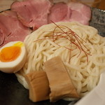らーめん 鶴武者 - らーめん 鶴武者のつけ麺(14.03)