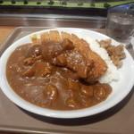 那須高原サービスエリア(上り線)ショッピングコーナー - 料理写真:カツカレー・・運転オツカレーということで・・(;´Д`)