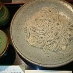 京都 団楽 - ざるそば(二八)