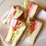 喫茶室ルノアール - なんか急にサンドイッチが食べたくなって。