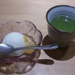 うなぎのふじ井 - ・梅懐石 デザート