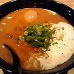麺彩 藤 - カレー味玉ラーメン