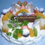 リヴィエラ - 料理写真:お誕生日ケーキ等のご予約も承っております。