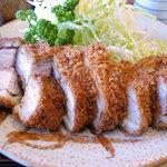 とんかつ桂 - 特ロース定食