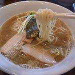 つけめんTETSU 品川店 - 中太ストレート麺