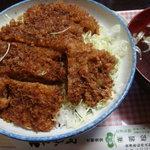 若松食堂 - ソースカツ丼