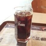 ミスタードーナツ - もうアイスコーヒーの季節ですね。\(^o^)/