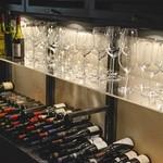 ガッロネロ - 10種類のワイングラスが有ります。