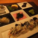 りんどう - 旬菜パレットとお刺身のサラダ^^