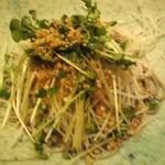 手打蕎麦 たけ田 - そばサラダ