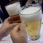 銀座ライオン - 最初はビールでしょう
