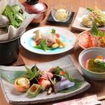 栞 - 季節の味わいを堪能、自慢の会席料理をぜひ『栞コース』