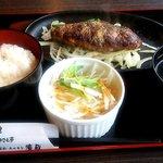 濱蔵 - 料理写真:塩胡椒ハンバーグ
