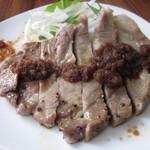 SAWAS食堂 - 上州豚のグリル アップルジンジャーソース