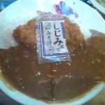 駒一番 - カツカレー(出前)