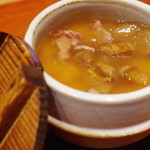 一富士 - テール出汁の茶碗蒸し