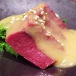 一富士 - ハツと菜の花の酢味噌和え