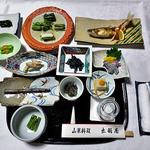 出羽屋 - 夕食(はじめに用意されていた料理)