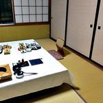 出羽屋 - 夕食で利用した個室