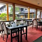 出羽屋 - 朝食会場の食堂