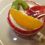 アンジュフレット - 季節のプリン 432円 オレンジのアップ 【 2014年5月 】