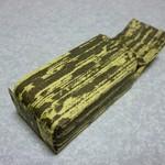 黒田千年堂  - 竹の皮のようなデザインです