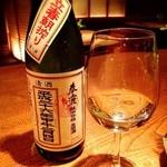 お箸BARおれお - 奈良県の日本酒。春鹿。写真は2月に、限定で発売される立春朝搾り!これフルーティでメチャうまです。2月に入れば入荷します!