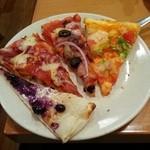 27253073 - ブルーベリーのデザートピザ♪
