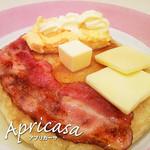 アプリカーサ - お食事パンケーキ