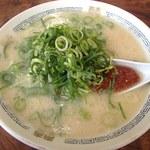 長浜ラーメン - 辛みそラーメン(700円)