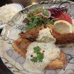 レストランバーラルコル - チキン南蛮&海老フライのデュエット
