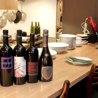 イタリアのビオワインを中心としたオーガニックなワインたち