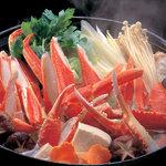 大宮 甲羅本店 - 甲羅秘伝の出汁でかにすき鍋です。最後の雑炊は絶品。