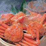大宮 甲羅本店 - ずわい蟹を丸ごと姿茹で!