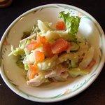 シェモリウチ - 料理写真:カツカレーセットのサラダ