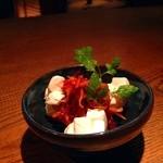 お箸BARおれお - 韓国スルメとクリームチーズ(^^)