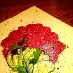 お箸BARおれお - ドライサラミ(^^)風味高い美味しいサラミをどうぞ!