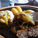 びっくりドンキー - 150gチーズハンバーグ