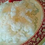 イナダ - ミニヒレカツ定食のご飯