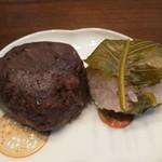 丸芝饅頭堂 - 料理写真:おはぎと桜餅