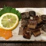 霧島地鶏 きばいやんせ - カツオの腹皮