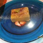イタリア食堂USAGI - 安納芋のブリュレ?