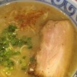 らー麺屋 バリバリジョニー - バリ塩ラーメン700円