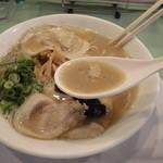 魁龍 - 濃厚なスープ
